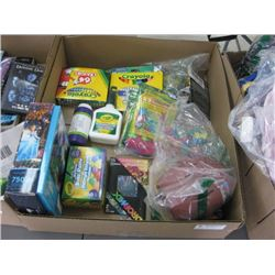BOX OF KIDS ART SUPPLIES