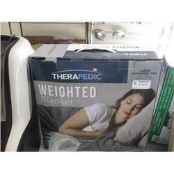 THERAPEDIC 20LB WEIGHTED BLANKET