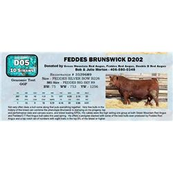 Lot - 59 - FEDDES BRUNSWICK D202