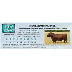 Lot - 64 - RIDGE ADMIRAL 3411