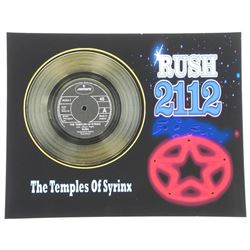 "Rush ""The Temples of Syrinx"" Record Display. 11x14""."