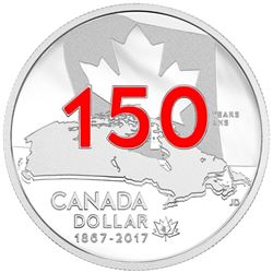 2017 $1 Our Home and Native Land - Special Ed. Proof Fine Silver Dollar.