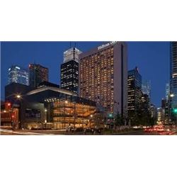 Hilton Hotel. Weekend night for two including breakfast. Value $350.