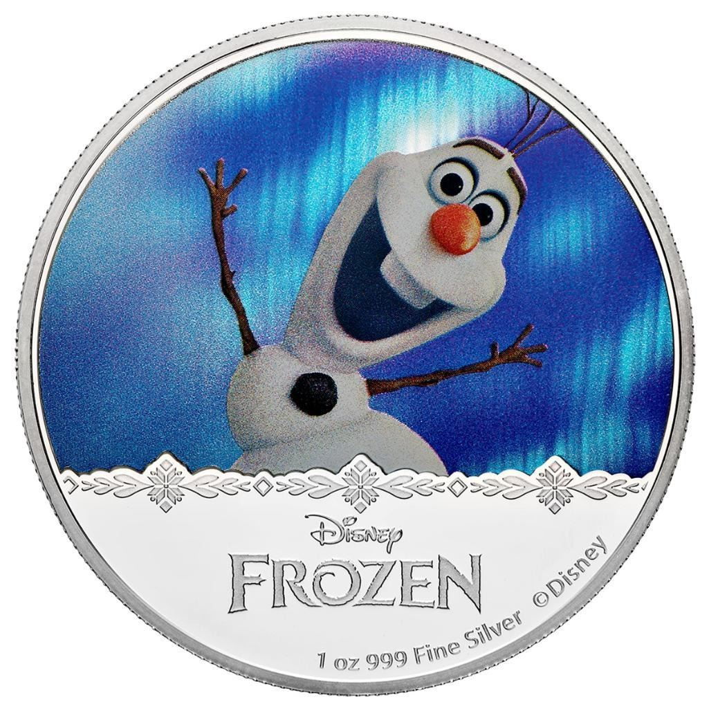 2016 $2 Disney Frozen: Magic of the Northern Lights Collection - Olaf