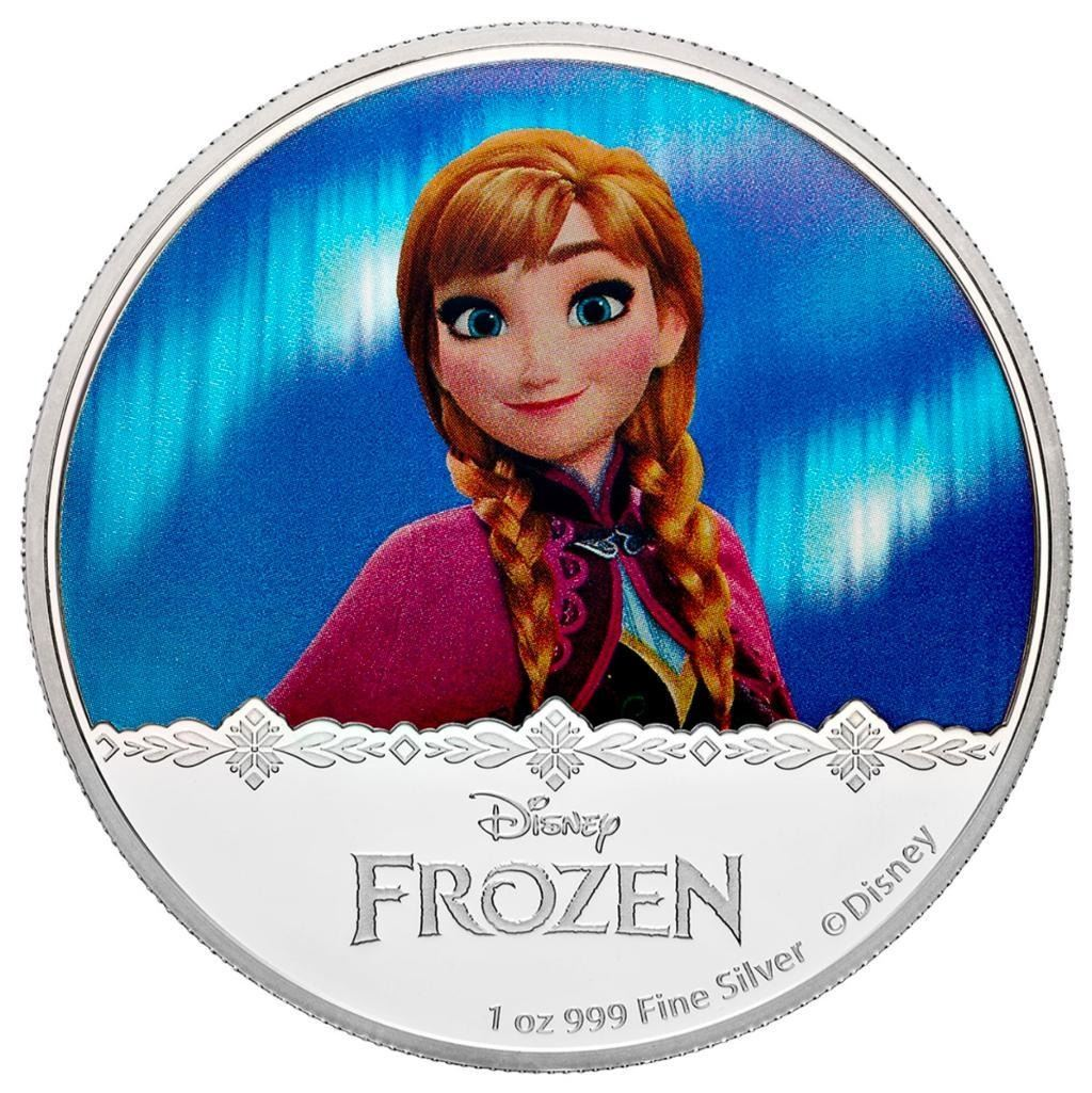 2016 $2 Disney Frozen: Magic of the Northern Lights Collection - Anna