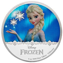2016 $2 Disney Frozen: Magic of the Northern Lights Collection - Queen Elsa