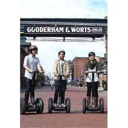 Segway 30 minute Distillery Spin Tour for 2. Value $90.14.