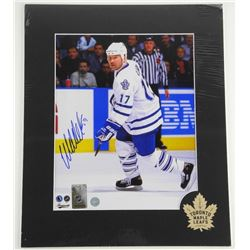 Wendel Clark Hand Signed 8x10 Photo - Matted with COA.