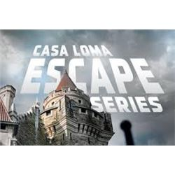 Casa Loma Escape Room for 2. Value $103.96.