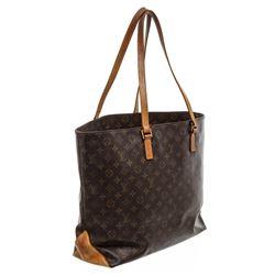 Louis Vuitton Monogram Canvas Leather Cabas Alto Shoulder Bag