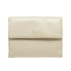 Louis Vuitton White Epi Leather Ludlow Wallet