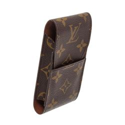 Louis Vuitton Monogram Canvas Leather Cigarette Holder Case