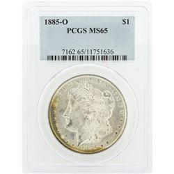 1885-O PCGS MS65 Morgan Silver Dollar