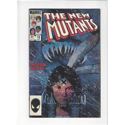 The New Mutants Issue #18 by Marvel Comics