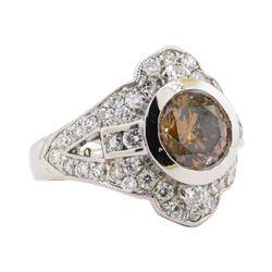 2.01 ctw Diamond Ring -  Platinum
