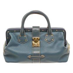 Louis Vuitton Blue Suhali L'ingenieux PM Tote Bag