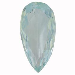6.97 ctw Pear Aquamarine Parcel