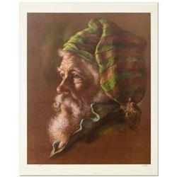 Fisherman by Virginia Dan (1922-2014)