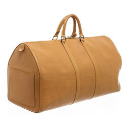 Louis Vuitton Cipango Gold Epi Leather Keepall 55 cm Duffle Bag Luggage