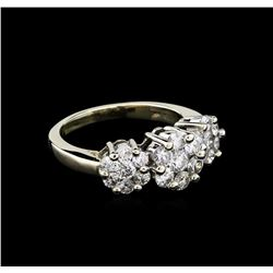 2.00 ctw Diamond Ring - 14KT White Gold