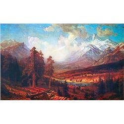 Estes Park by Albert Bierstadt