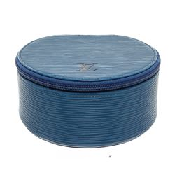 Louis Vuitton Blue Epi Leather Ecrin Bijoux Jewelry Box