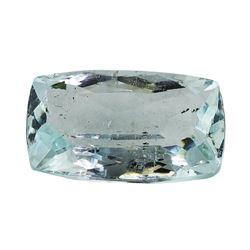 6.80 ct.Natural Cushion Cut Aquamarine