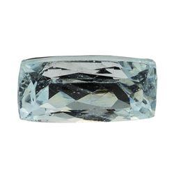 8.58 ct.Natural Cushion Cut Aquamarine