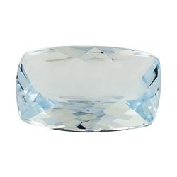 2.19 ct.Natural Rectangle Cushion Cut Aquamarine
