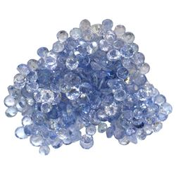 11.86 ctw Round Mixed Tanzanite Parcel