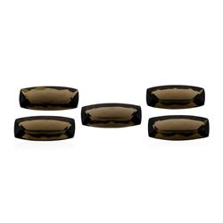 12.68 ctw. Natural Cushion Cut Smoky Quartz Parcel of Five