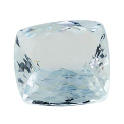 3.58 ct.Natural Square Cushion Cut Aquamarine