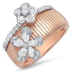 18k Gold 9.35CTW Diamond Ring, (SI1/FG)