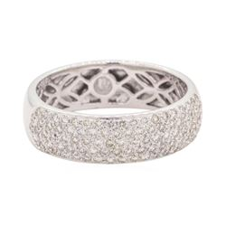 0.99 ctw Diamond Band - 18KT White Gold