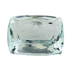 5.48 ct.Natural Cushion Cut Aquamarine
