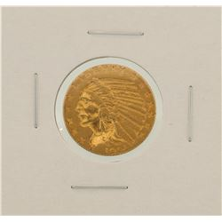 1914 $5 Indian Head Half Eagle Gold Coin