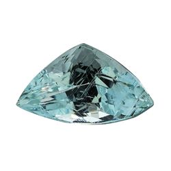 4.28 ct.Natural Trilliant Cut Aquamarine