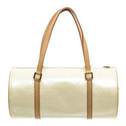 Louis Vuitton Pearl Vernis Leather Bedford Barrel Bag