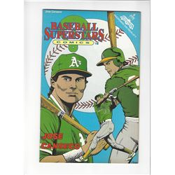 Baseball Superstars Jose Conseco Issue #6 by Revolutionary Comics