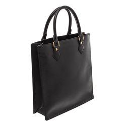Louis Vuitton Black Epi Sac Plat Tote Bag