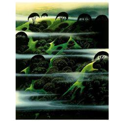 Early Morning Fog by Eyvind Earle (1916-2000)