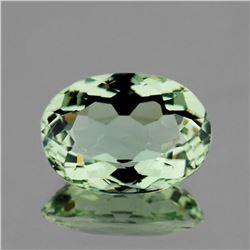 Natural Green Amethyst 14x10 MM [Flawless-VVS]