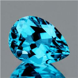 Natural Swiss Topaz 14.27x10.92 MM - VVS