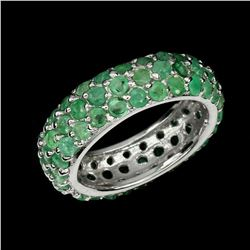 Natural Columbian Emerald Ring