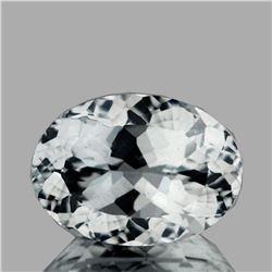 Natural AAA Luster Diamond White Aquamarine - FL