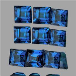 NATURAL  BLUE SAPPHIRE 2.50 MM - 9 Pcs  [IF-VVS]
