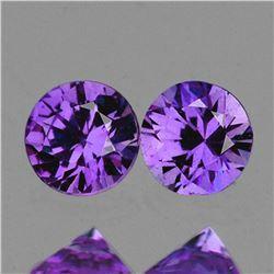 Natural Purple Sapphire Pair [Flawless-VVS]