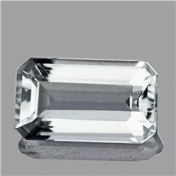 NATURAL EXTREME BRILLIANCY WHITE AQUAMARINE - FLAWLESS