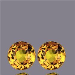 Natural Golden Yellow Sapphire Pair - VVS