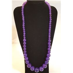 BEAUTIFUL AMETHYST NECKLACE 209 CTTW